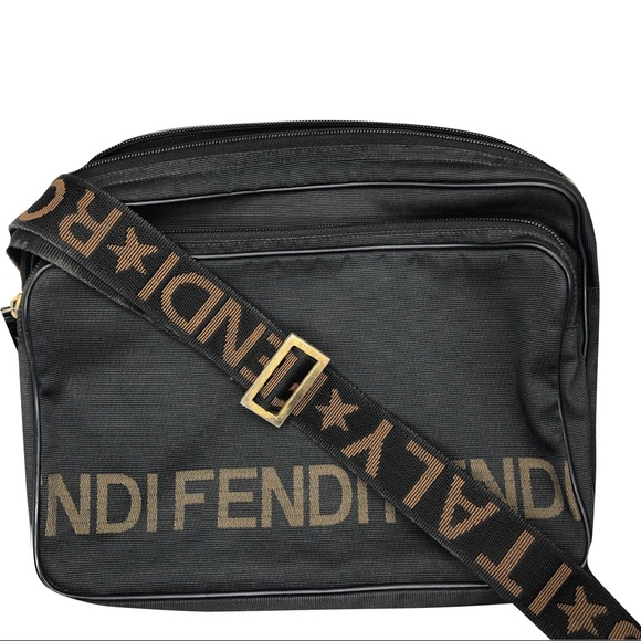 Fendi Handbags - Vintage Fendi Roma Shoulder Bag